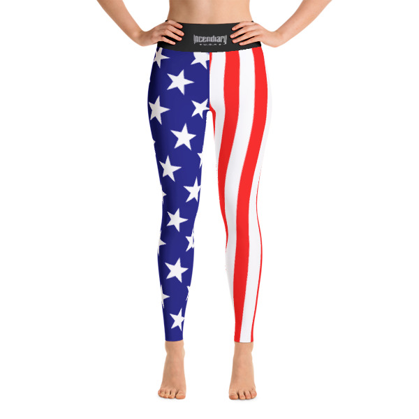 America Yoga Leggings