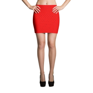 Incendiary Second Amendment Lover Mini Skirt